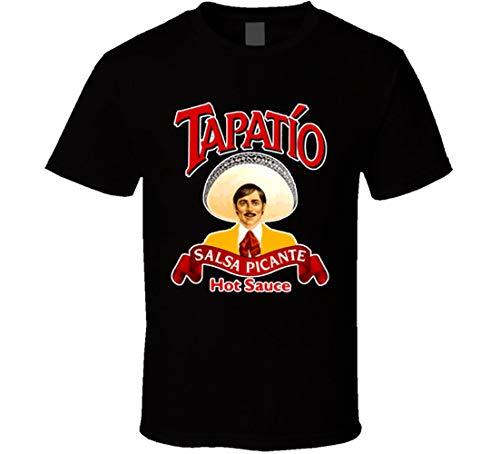 Tapatio T-Shirt für heiße Sauce, Mexiko, Picante Salsa Gr. 56, Schwarz