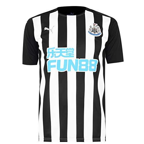 PUMA Herren Newcastle United Heim Shirt Heimtrikot 2020 2021 Schwarz/Weiß S