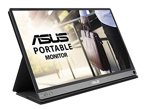 "Asus ZenScreen Go MB16AP Monitor Portatile 15.6"" USB Type-C , FHD (1920 x 1080), IPS, Batteria fino a 4 Ore, Foldable Smart case, Compatibile con USB Type-A"