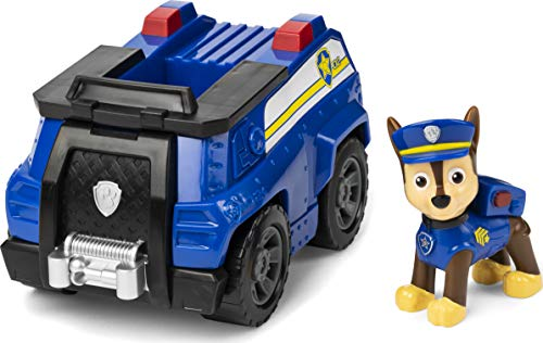 PAW Patrol 6054118 - Chases Polizeiwagen und Figur (Basic Vehicle)
