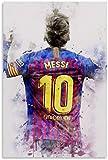 Adultos Puzzle 1000 Piezas Niños Rompecabezas Lionel Messi, jugador de fútbol 6 29.5x19.6inch(75x50cm) Sin Marco