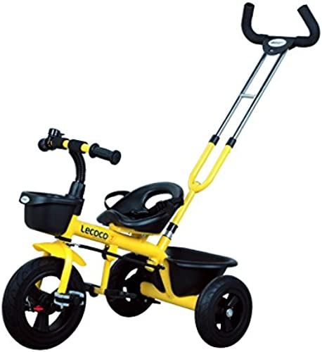 Kinder Dreir r fürr r Kinderwagen Spielzeugautos 1-3 Jahre Kinderfürr r ( Farbe   Gelb )
