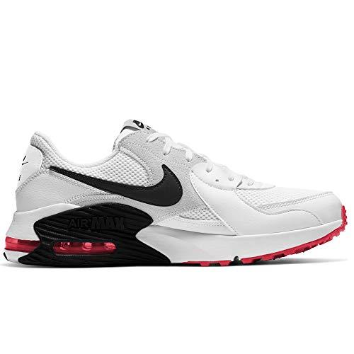 Nike Air MAX Excee, Zapatillas para Correr Hombre, White Black Photon Dust BRT Crimson, 42 EU