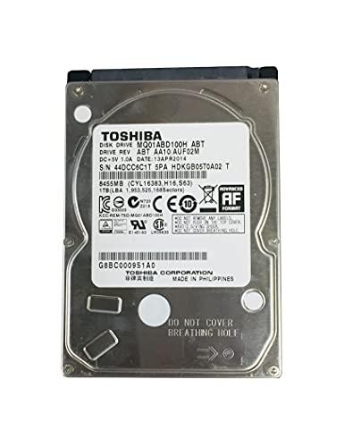 AZ74-トシバ東芝 2.5インチ 1TB HDD厚み8㎜、一部のノートPC対応可MQ01ABD100H ABT