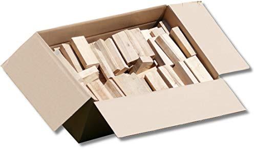 Energie Kienbacher 5-30 kg BBQ Buche sortenrein Wood Chunks Smoker Holz Räucherholz Räucherklötze Grillen smoken räuchern, für alle Grills geeignet 100% natürlich (10)