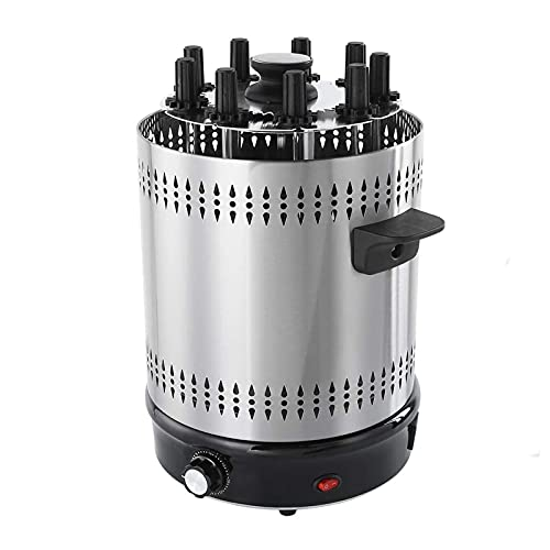 WPHGS Barbacoa, Parrilla eléctrica portátil Barbacoa Vertical Parrilla asador máquina de la Barbacoa Multifuncional máquina de Cocina