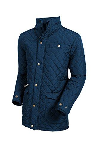 Target Dry Windsor Mens Coutry Style matelassé Manteau   (Marine, L)