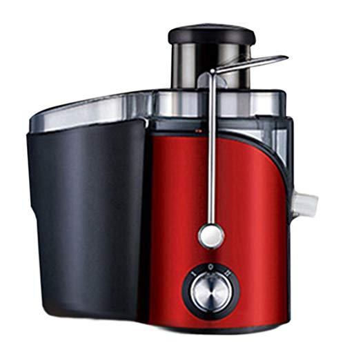 Licuadora for Verduras y Frutas Exprimidor de Zumos y Extractor de Jugo, Licuadora de Vaso con 2 Vel y Doble Filtrado, Exprimidor Centrífugo Libre de BPA con Base Antideslizante