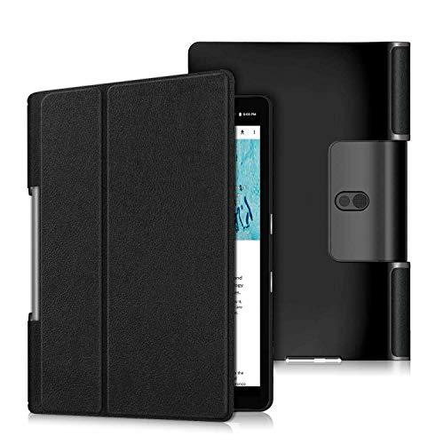 BNBUKLTD Funda compatible con Lenovo Yoga Smart Tab YT-X705F Funda Premium Smart Book Stand Cover (2019)