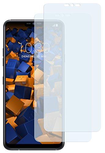mumbi Schutzfolie kompatibel mit LG G7 ThinQ/LG G7 fit Folie klar, Bildschirmschutzfolie (2X)