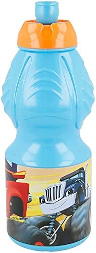Blaze And The Monster Machine–Bottiglia Borraccia di plastica Piccola 400ml, Stor (85932)
