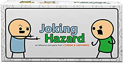 Joking Hazard by Cyanide & Happiness - a funny comic building party game for 3-10 players, great for game night