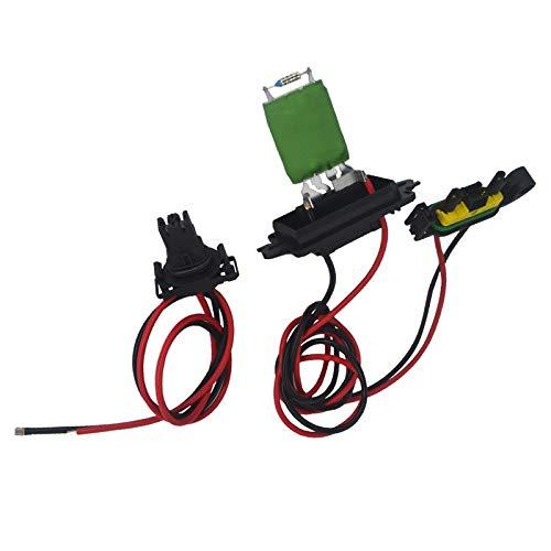 KASturbo Resistencia del ventilador del motor del calefactor para Clio MK3 III Grand Modus 7701209803