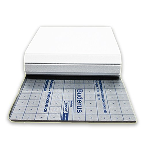 12qm Logafix PUR-THERM Verbundplatte, Unterdämmung, 35-3mm mit Trittschallverbesserung und optimalem Halt für Tackernadeln