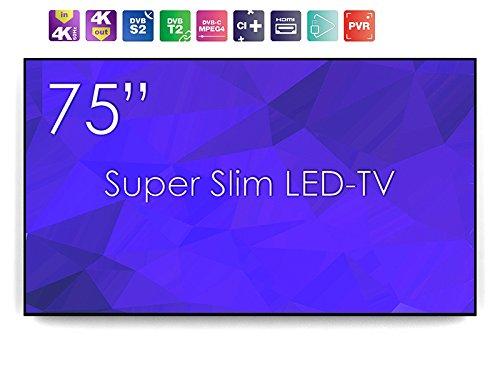 Swedx SS de 75K16de A2de PP1–Maleta SuperSlim 191cm (75') 4K 60Hz LED de TV DVB-T/T2/C/S/S2