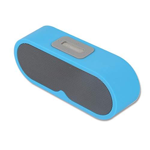 HIOD Bocina Bluetooth Inalámbrico Bajo Fuerte Mini Portátil 2 Cuerna Estéreo Sonido Envolvente
