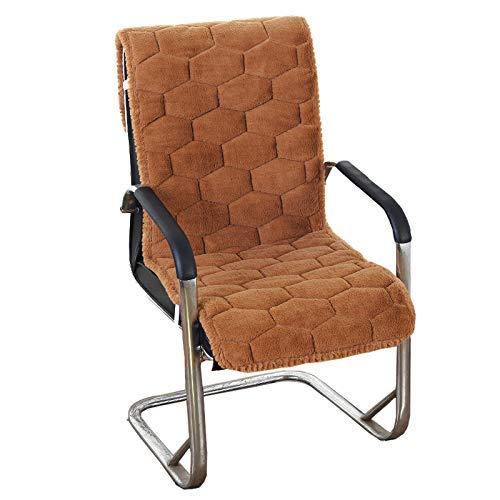 Yxxc Rattan Patio Furniture Chair Patio Cushion High Back, Suede Patio Lounger Patio Cushion Chair Pads Seat Back Cushion Thicken Office Chair Pad Chaise Lounge Armchair-brown