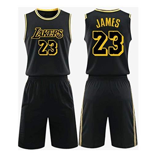 James Jersey # 23 Lakers NBA Baloncesto Sin Mangas Clásico Bordado ...