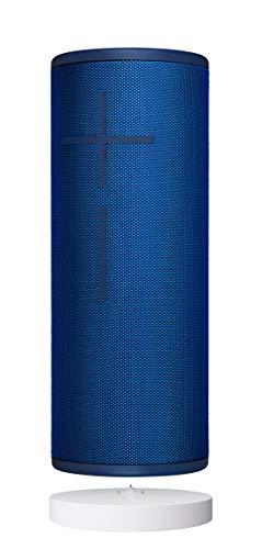 Ultimate Ears Megaboom 3 Altavoz Portátil Inalámbrico Bluetooth y Base de Carga Power Up, Graves Profundos, Impermeable, Flotante, Conexión Múltiple, Batería de 20h, Color Azul