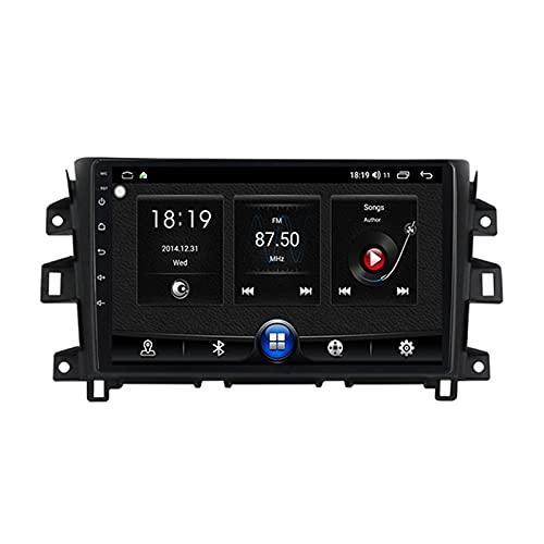 Android 10 Car Multimedia System Vehicle Audio Bluetooth Car Radio Para Nissan Navara NP300 2011-2016,Con Pantalla Táctil De 9'' Enlace Espejo 5Ghz Wifi GPS Mandos De Volante Cámara Trasera,B,1G+16G