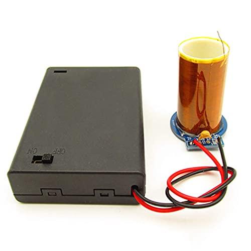 BJH Kit generador de experimentos científicos DIY Juguete de Juego de transmisión de Electricidad inalámbrica, Kit de Aprendizaje de física