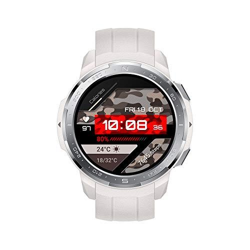 HONOR Watch GS Pro, Pantalla 1.39' 454x454, batería 790 mAh, GPS, IP68, 100 modos deportivos, Marl White