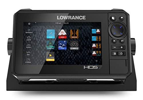 Lowrance HDS-7 Live with Active Imaging 3-in-1 Transom Mount Transducer & C-MAP Pro Chart