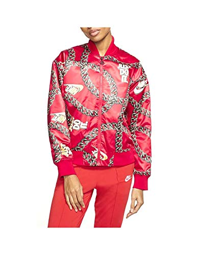 Nike W NSW Syn Fill JKT Glm Dnk Womens CI9996-657, University Red, Size US M