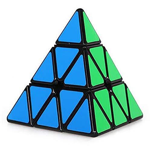 BonTime Triángulo Pirámide Pyraminx Velocidad 3D Puzzle Twist Magic Cube Toy