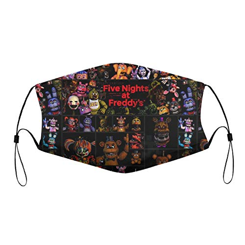 Fnaf Face Mask Five Nights At Freddy's Mask Toys Gift for Kids Man Women