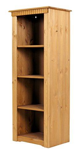 clever-moebel Bücherregal aus Kiefernholz, gelaugt/geölt