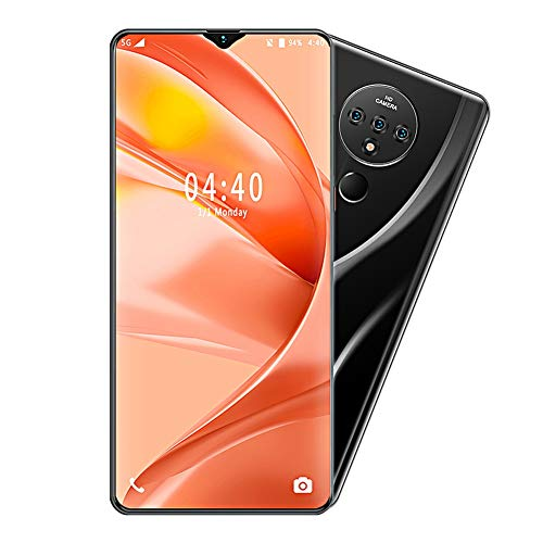 T angxi 6.7' Water Drop Screen Phone, 6.7-Inch 2+16G Water Drop Dual Cards Dual Standby Fingerprint Identify Face Unlock 1300W Back Camera Smart Mobile Phone OS for Android 9.1(UK)