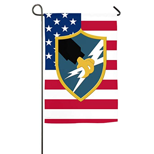 DADAMOON US Army Security Agency Yard Flag Patio Garden Flags Outdoor Banner 12x18 Inches