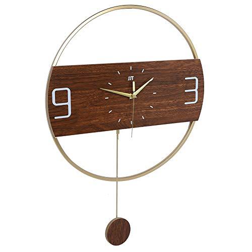 Redxiao 【𝐎𝐟𝐞𝐫𝐭𝐚𝐬 𝐝𝐞 𝐁𝐥𝐚𝐜𝐤 𝐅𝐫𝐢𝐝𝐚𝒚】 Reloj de Pared Moderno Duradero, Reloj, Estudio de Sala de Estar para Dormitorio en casa
