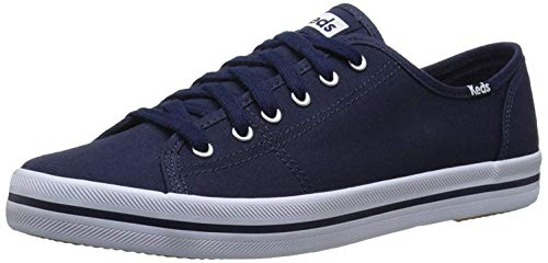 Keds Damen Kickstart Season. Canvas, Schwarz(navy), 40.5 EU