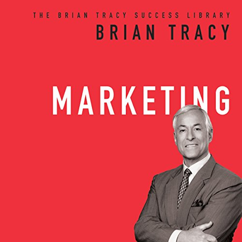 Marketing: The Brian Tracy Success Library audiobook cover art
