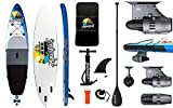 """AQUALUST 12'0"""" SUP Board Stand Up Paddle Surf-Board BlueDrive S Power Fin...*"""