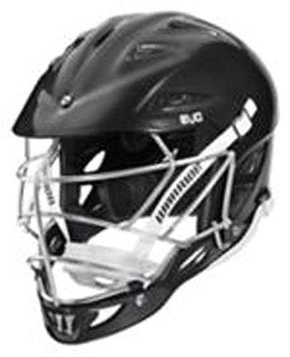 Warrior Evo Lacrosse Helmet, Black, Large/X Large