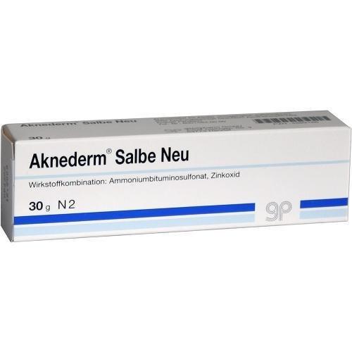 AKNEDERM SALBE NEU 30g Salbe PZN:4889186 by gepepharm GmbH
