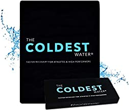 The Coldest Ice Pack Large Flexible Gel Ice Pack, Specific for Cold Therapy - Ice Pack for Back Leg Sprains, Muscle Pain, Bruises, Injuries - 11