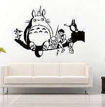 ملصق مطبوع عليه فيلم anime My Neighbor TOTORO لغرفة الأطفال ملصق حائط غرفة المعيشة وغرفة النوم وملصق كرتوني