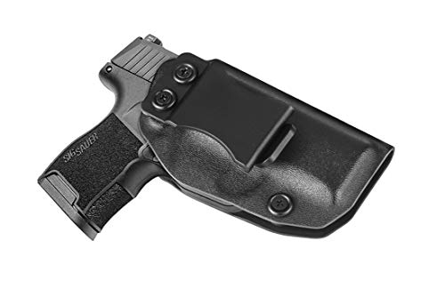 P365 Holster, Concealed Carry Holster Fits Sig Sauer P365/Sig Sauer P365 SAS, IWB Kydex Holster for Men and Women, Adjustable Cant & Retention - Right Handed