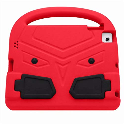 360 Full Body Handle EVA Foam Protective Cases Shockproof Kids Skin Cartoon Cover for iPad 2 iPad 3 iPad 4 Stand Function,Red