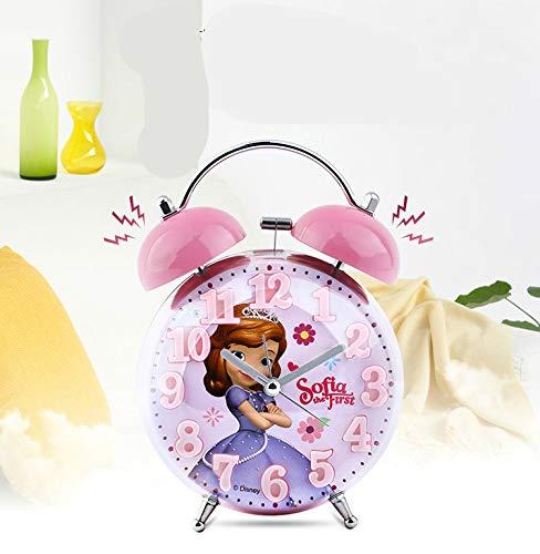 xinyawl - Reloj despertador infantil con diseño de Elsa Ann