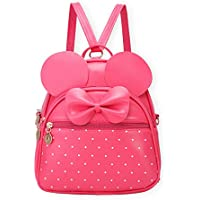 Bowknot Polka Dot Cute Mini Backpack