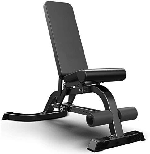 ZLSP Sit Up Bench Multifunktions Einstellbare Hantel Bank, Bauchmuskeltraining Supine Vorstand for Männer und Frauen in der Turnhalle, Fitness Stuhl, Bearing 300kg