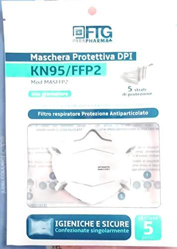 KN95 - FFP2 per la massima protezione, 10 pezzi