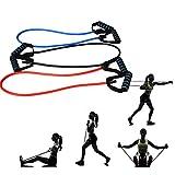 Elasticos Fitness Gomas Elasticas Musculacion Bandas de Ejercicio de Resistencia Bandas de Resistencia Conjunto Banda de Resistencia Ejercicio Bandas 3pcs,1200-11-6mm