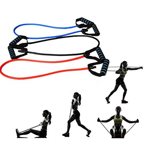 Gertok Bandas Elasticas Fitness Cintas Elasticas Musculacion Bandas de Ejercicio de Resistencia Gimnasio Bandas Entrenamiento Bandas 3pcs,1200-11-6mm