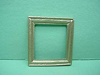Dollhouse Miniature Accessories & Furniture Picture Frame - #39 Painted Metal 1/12 Scale